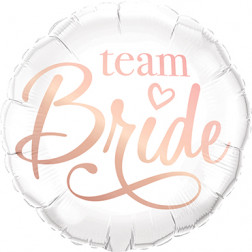 Folienballon Team Bride 46cm