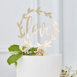Cake Topper LOVE acrylic