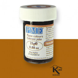 PME Paste Colour Teddy Bear Brown 25g