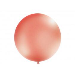 Metallic Riesenballon Rosegold 1m