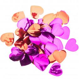 Konfetti Herz rot pink 50g