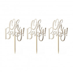 Cupcake Toppers Oh Baby! 12 Stück