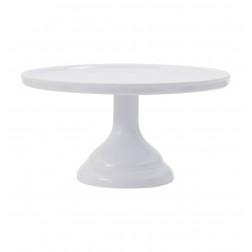 Tortenplatte weiß Melamin 23,5cm