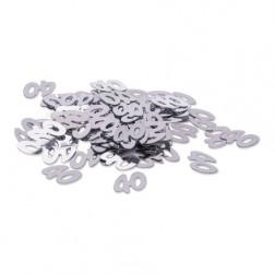 Konfetti 40 Silber 14g