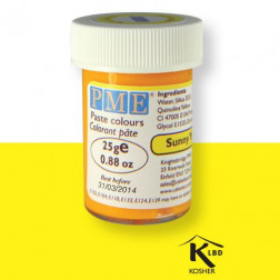 Paste Colour Sunny Yellow 25g