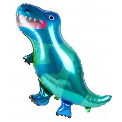 Folienballon Dino T-rex 90cm