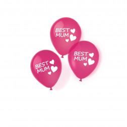 Luftballons Best Mum 6 Stück
