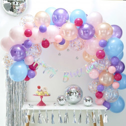 Ballon Arch Kit Pastell