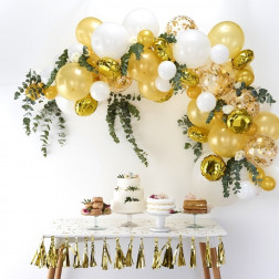 Ballon Arch Kit Gold