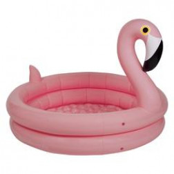 Inflatable Backyard Pool Flamingo 155cm