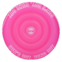 Twin Float Neon Pink 160cm