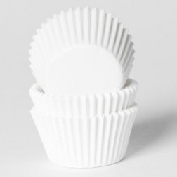 Mini Cupcake Formen weiß 60 Stück