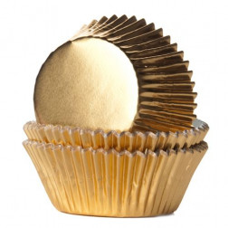 Baking Cups Folie Gold 24/Pkg