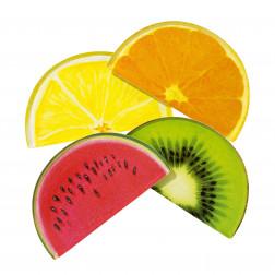Pappteller Tropical Fiesta Fruit 12 Stück