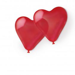 Luftballons Herz Rot 10 Stück