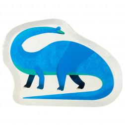 Pappteller Dino 12 Stück