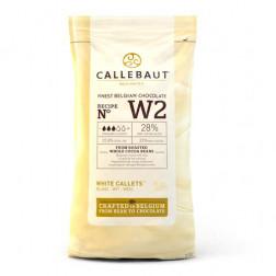 Callebaut Weiße belgischer Schokolade 1kg