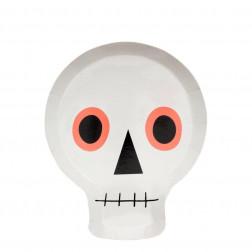 Pappteller Skull 12 Stück