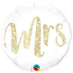 Folienballon MRS Herz 46cm