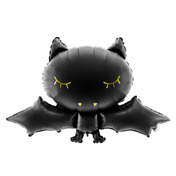 Folienballon Bat Black gold 80cm