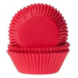 Cupcake Backförmchen rot 50 Stück