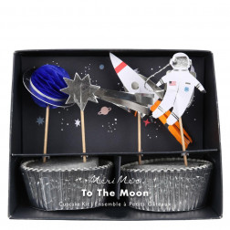 Cupcake Kit To The Moon
