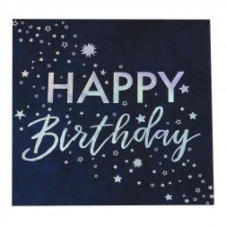 Servietten Happy Birthday Stargazer 16 Stück