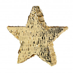 Pinata Stern gold 45cm
