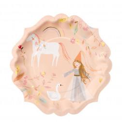 Pappteller Magical Princess 8 Stück