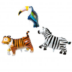 Folienballons Animal Set 3 Stück