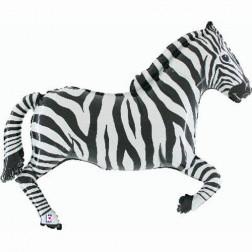 Folienballon Zebra 100cm