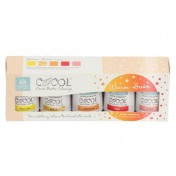 SK Professional COCOL Cocoa Butter Colouring Warm 5er Set
