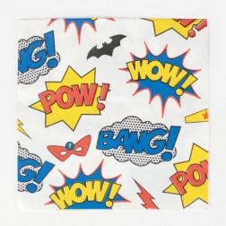 Servietten Superhero 20 Stück