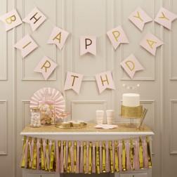 Partybox für 8 Gäste mit Motto Pastel Perfection Party