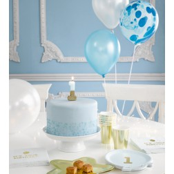 PARTYBOX 1st Birthday Blau