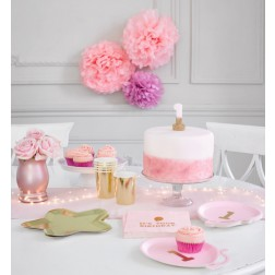 PARTYBOX 1st Birthday pink